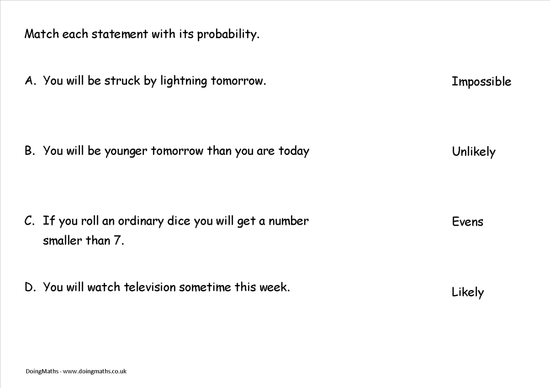 Probability Free worksheets PowerPoints and other resources for – Probability Worksheet Pdf